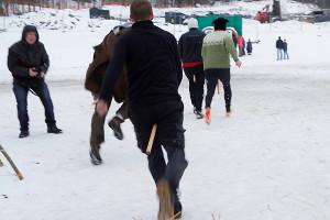 Pål og Detektor var ikke skodd for vinterføre (Foto: Per Sibe)