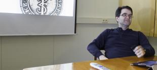 En dyktig foreleser (foto: Per Sibe)