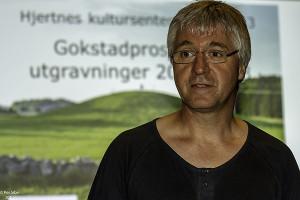 Jan Bill (Prosjektleder, KHM, UiO) (Foto: Per Sibe)