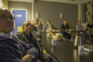 Dyktige foredragsholdere skaper lydhørt publikum (Foto: Per Sibe)