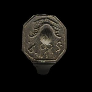 Sånn ser den flotte signet-ringen til Trond ut fra en annen vinkel og litt redigering