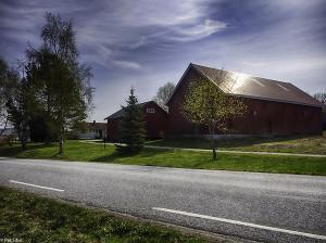 Flott gård for metallsøking (Foto: Per Sibe)