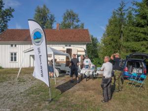 Medlemmene fra Norges Metallsøkerforening var tidlig på plass (Foto: Per Sibe)