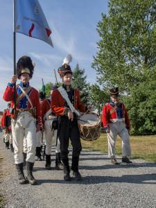 Infanteriet på vei inn (Foto Per Sibe)