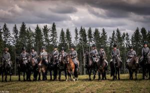 Kavaleriet var også på plass (Foto: Per Sibe)